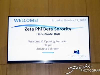 2018 Zta Phi Beta Sorority Debutante Ball