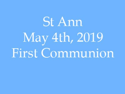 St Ann Communion