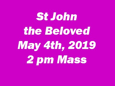 St John the Beloved 2 pm